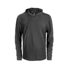 INITIAL-MEN'S HOODED LONG SLEEVE T-SHIRT - NEW