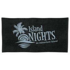 10 lb. / doz. Colored Beach Towel