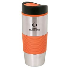 500 ml. (17 oz.) stainless steel travel tumbler