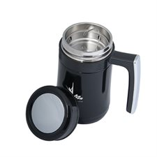 aberdeen 450 ml. (15 oz.) tea infuser vacuum travel mug