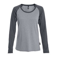 ETHICA-WOMEN'S RAGLAN LONG SLEEVE T-SHIRT - NEW
