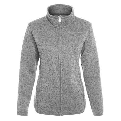 INITIAL-WOMEN'S FULL ZIP CARDIGAN - NEW