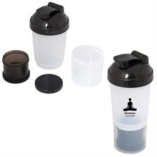 fitness fanatic 600 ml. (20 oz.) shaker bottle